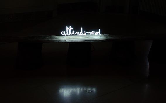 Claude Lévêque à l'Institut Culturel Bernard Magrez